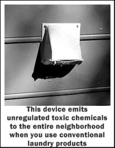 Dryer vents emit toxic chemicals
