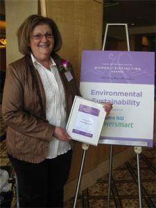 Elaine, YWCA Women of Distinction Awards nominee