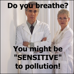 sensitive to pollution 4
