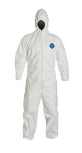A tyvek suit without me in it