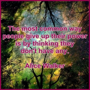 Alice Walker power