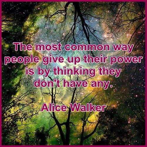 Alice Walker power