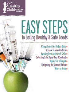 """Easy Steps to Eating Healthy & Safe Foods"""