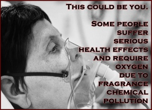 See the article Air Quality and Accessibility in Health Care; Why Aren't All Health Care Providers Fragrance-Free? https://seriouslysensitivetopollution.wordpress.com/2012/05/13/air-quality-and-accessibility-in-health-care-why-arent-all-health-care-providers-fragrance-free/