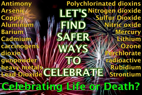 Let's find safer ways to celebrate