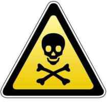 toxic skull and bones
