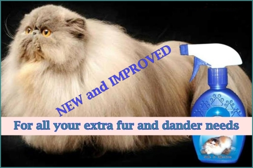 cat fur spray NEW