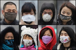 Masks in China