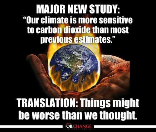 sensitive climate