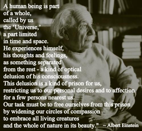 Einstein and Compassion