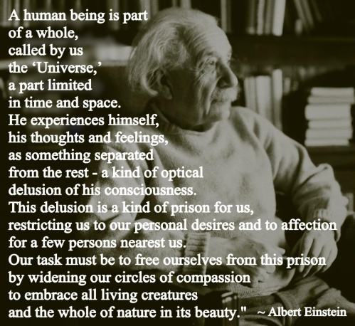 Einstein and Compassion