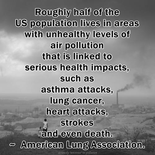 50 percent air pollution