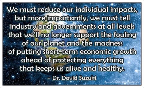 Dr David Suzuki