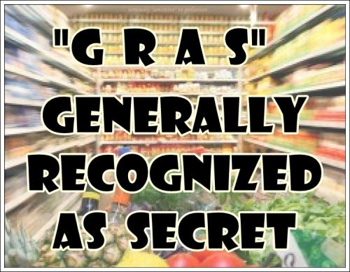 Generally Recognized As  Secret