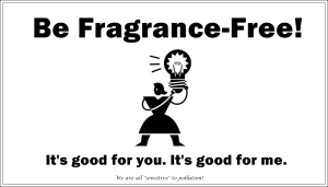 be fragrance-free 1
