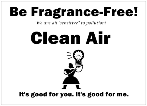 be fragrance-free 2