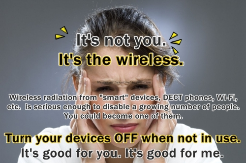It s not you It s the wireless 4b