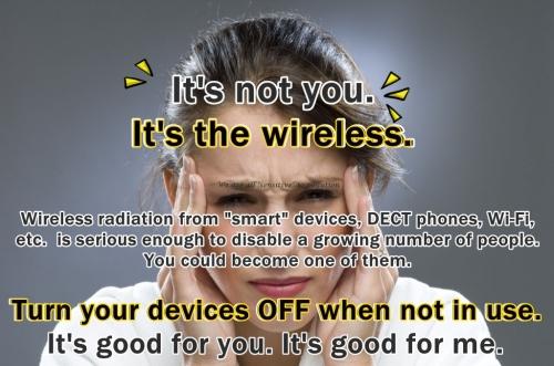 It s not you It s the wireless 4b