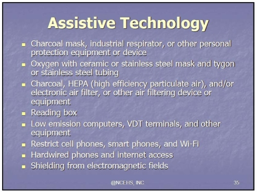 MCS ES assistive technology