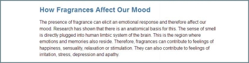 Fragrance Industry how fragrances affect mood