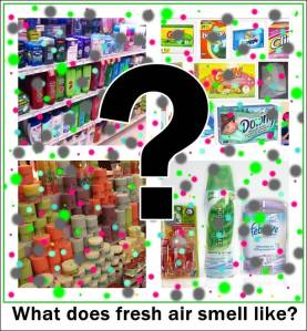 fragrance emitting products smell like chemicals