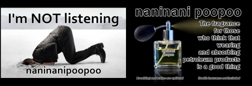 naninanipoopoo fragrance for those who aren't listening