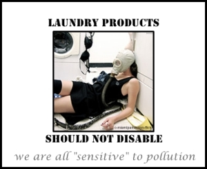 laundry products should not disable