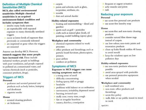 MCS clinic brochure 2