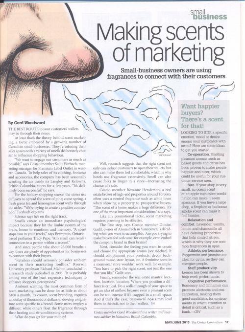 scent marketing costco 2015