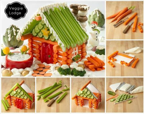 gingerbread veggies