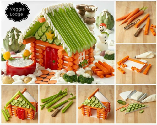 gingerbread veggies