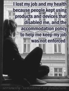 no enforcement lost my job