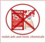 resist ads and toxic chemicals