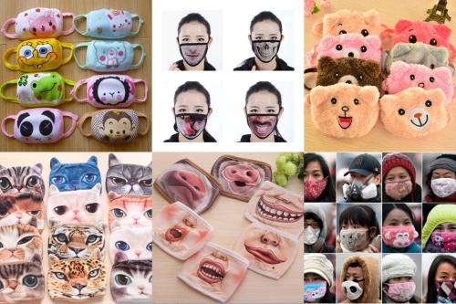 many masks