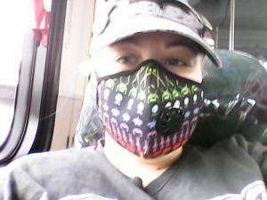 2016 Heather Drakonis in VOG mask