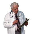 doctor with chart