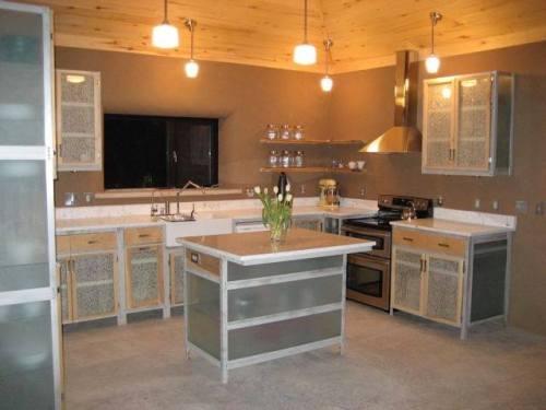 Margaret Forrest kitchen standard aliminum framed